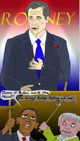 Romney, Obama's First Choice. by Rick-Colbert