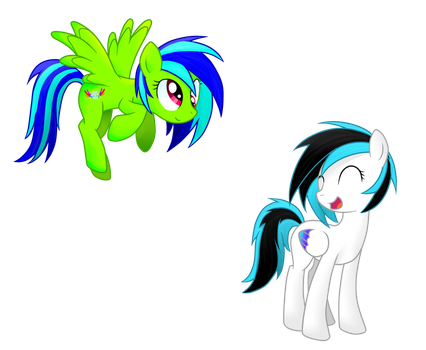 Freestyle and Tay by StaticWave12