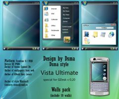 Windows Vista Ultimate by dsma