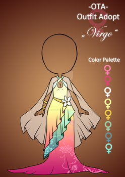 (closed) Offer to adopt - Virgo by CherrysDesigns