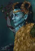 Jotun Loki Collab by StarshipSorceress