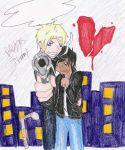 His Protector ::DallyXJohnny by 16AngelWing16