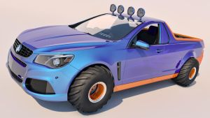 Holden Offroad UTE by SamCurry