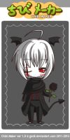 chibi maker : My OC Death ~ by ToshiroLovesYou
