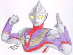 Ultraman Tiga 3 by hirokada