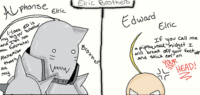 The Elric Brothers by MlpLovah123