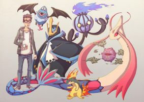 Pokemans by Jbrizzi