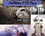 Edition PSD Pack #2 - B.A.P 1.0 by NightmareChronicles