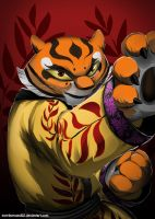 Master Tigress [KFP3] by Purpleground02