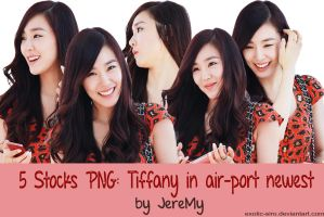 [PNGset1] SNSD's Tiffany by exotic-siro