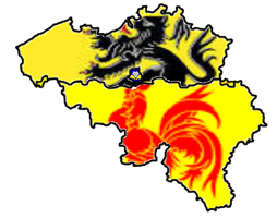 Belgium Flandres + Walloon done by Lorem-64