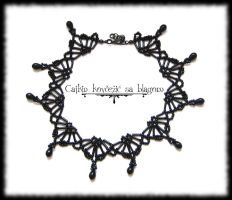 Gothic Princess necklace by Cayca