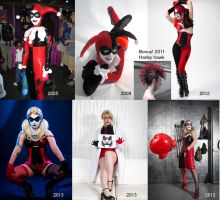 Evolution of Harley by Mistress-Zelda