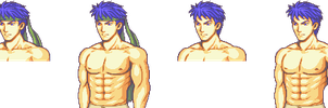 Ike's Shirtless Sprite Show by Great-Aether