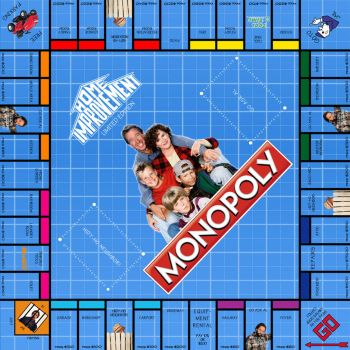 Home Improvement Monopoly by LordDavid04