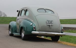 '40 Merc street rod by finhead4ever