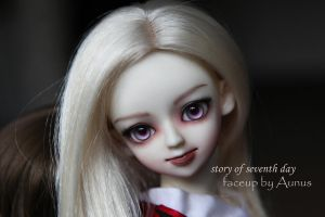 Face up19 by ymglq
