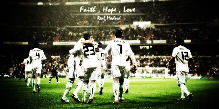 Real Madrid Wallpaper by ZainSy