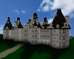 Minecraft Chateau De Chambord by skysworld