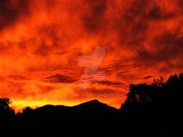 A Burnt West Australian Sky 2 by shhhhh-art