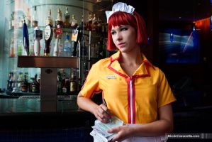 Otakon: Waitress Problems by burloire