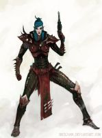 Dark Eldar: Trueborn 2 by Beckjann