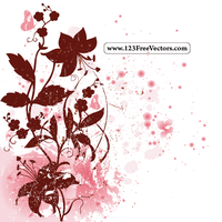 Spring Floral Background by 123freevectors