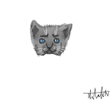 Quick Cat Doodle by Chatoyant11