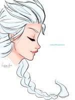 Elsa portrait by Andrea365