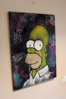 Homer Simpson by artbyabbey