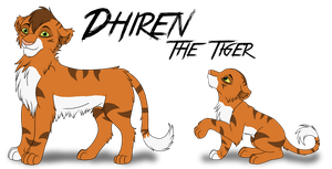 ~Dhiren the Tiger~ by Xbox-DS-Gameboy