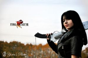 Rinoa Heartilly original Squall clothes version by PrincessRiN0a