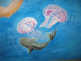 Jelly fish colse up by Iolii