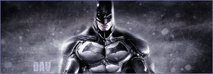 Signature Batman Arkham Origins by SuperBrioche