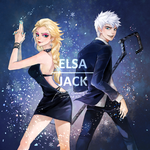 ELSA and JACK by CHAYI105