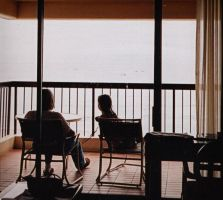 OLD Photo - Me and my Grandpa in Hawaii by AnimeEmm