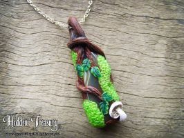Magic Forest Pendant by Hidden-Treasury
