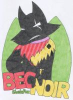 Bec Noir Badge for ShelaFox by kokorogensou