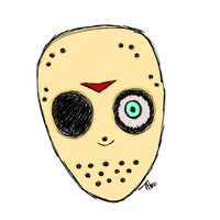 Jason Mask by Dysfunctional-H0rr0r