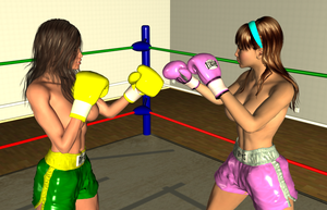 Random KO: Vera vs Lilly 002 by chuy9502