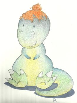 J Lew the Dino by Annibal