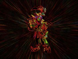 Skull Kid Wallpaper by Sentient-Ziggy