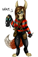 Actually furry version of meh ID by Coyskiie
