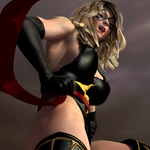 Cospaly Ms Marvel vs Naomi 493 by CalvadosJapan
