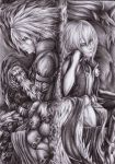Once we were Kings - Ragna and Jin by Curse-of-Lolth