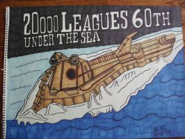 20,000 Leagues Under The Sea 60TH Anniversary by Forceuser77