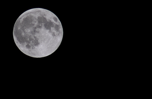 An August Full Moon by Stirk-Bostaurus