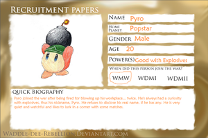 WDR Registration Papers by citreneowl