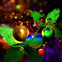 Colourful Christmas Joy by BGai