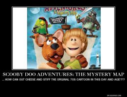 DeMotivator: The Next DTV Scooby Doo Movie by SilverZeo